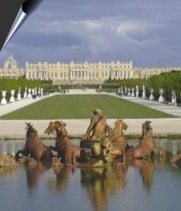 prise de vue jardins du palais