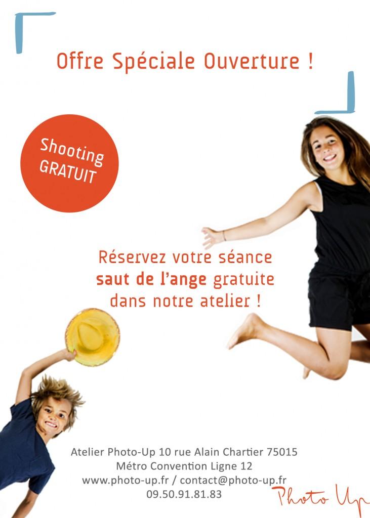Fête de la Musique - Flyer Offre Spéciale - Studio Photo Saut de l'Ange